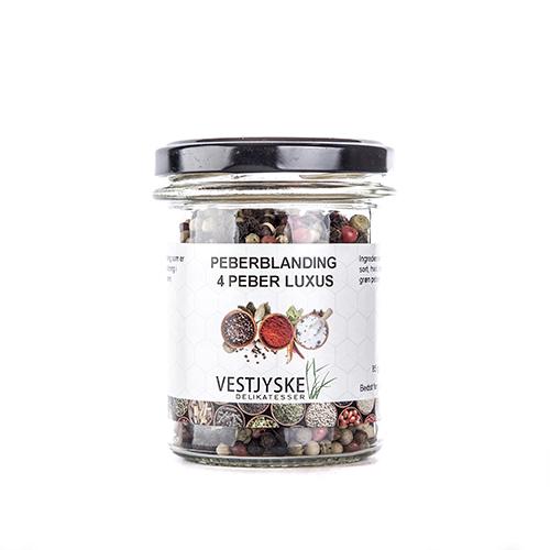 Peberblanding 4 peber luksus