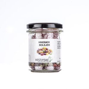 hindbær bolcher