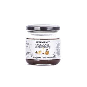 Chokolade-pebermynte - honning