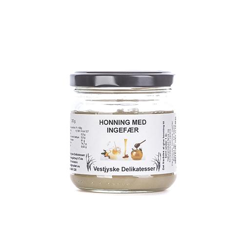 honning med ingefær